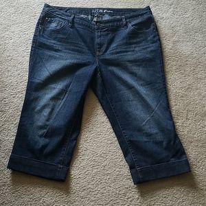 The most comfortable jean capris!